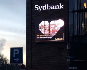 LED Monitor Sydbank