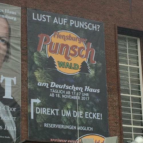 Banner Punschwald
