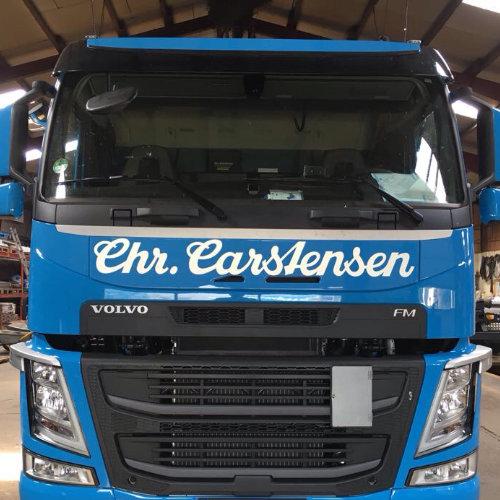 LKW-Beschriftung Carstensen
