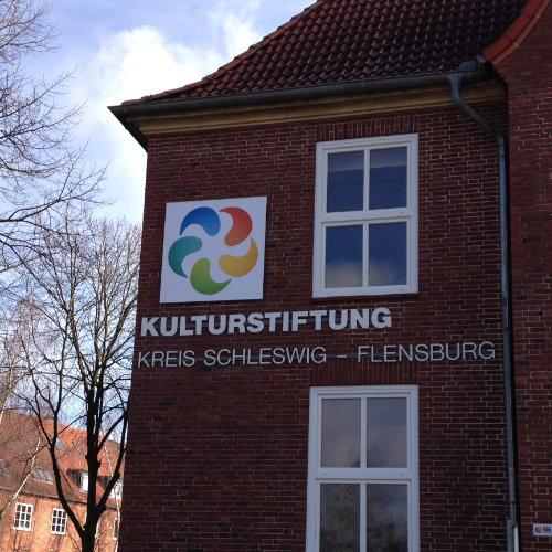 Schild Kulturstiftung Schleswig-Flensburg