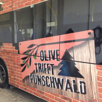Busbeschriftung Punschwald